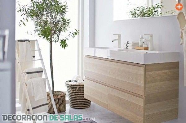 Tres ideas de baños por Ikea