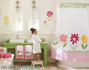Vamos a decorar un baño infantil
