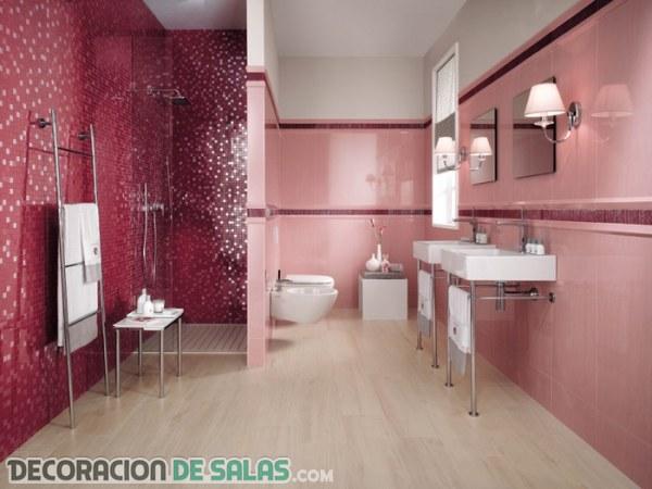 Ideas de baños juveniles a todo color