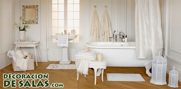 Ideas para decorar un baño romántico