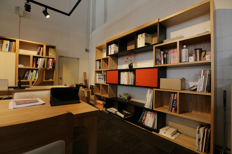 biblioteca ideal en casa
