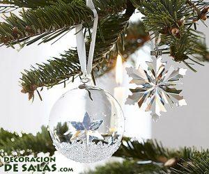 Decoración navideña de Swarovski