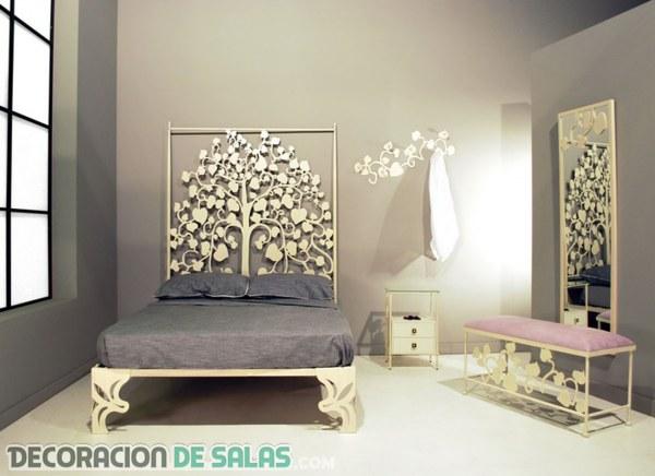 Personaliza tu dormitorio con un cabecero diferente
