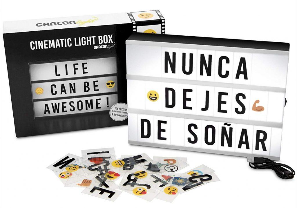 Caja de luz LED Amazon