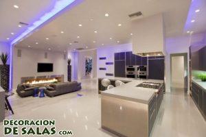 Luces LED en tus salones