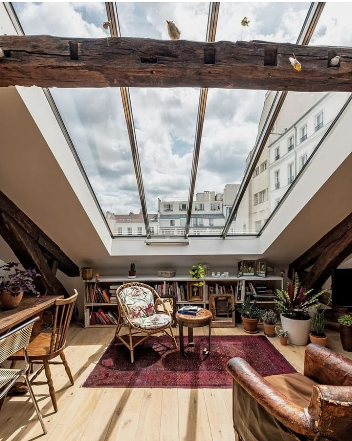 Decoración de habitaciones estilo industrial y urbano