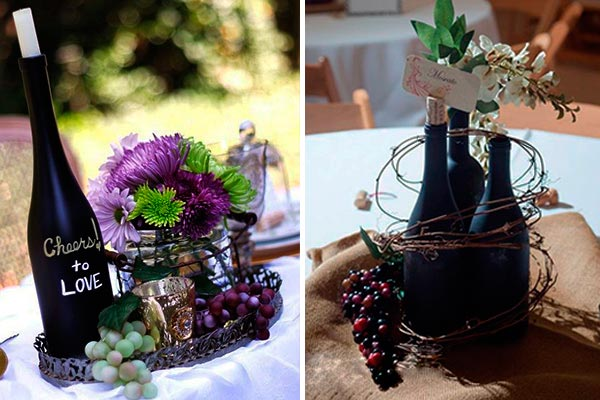 centro de mesa flores secas
