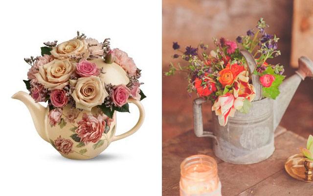 centro de mesa de flores