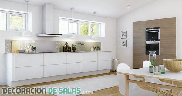 Cocinas Blancas Inspírate Con Estas Imágenes Decoración