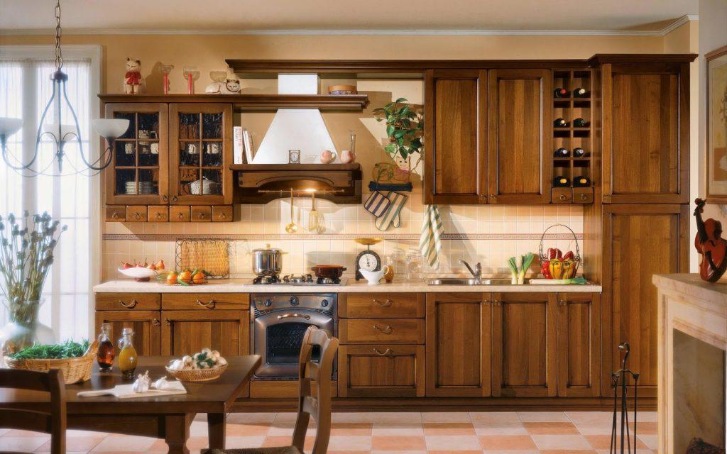 decoración clásica de cocina