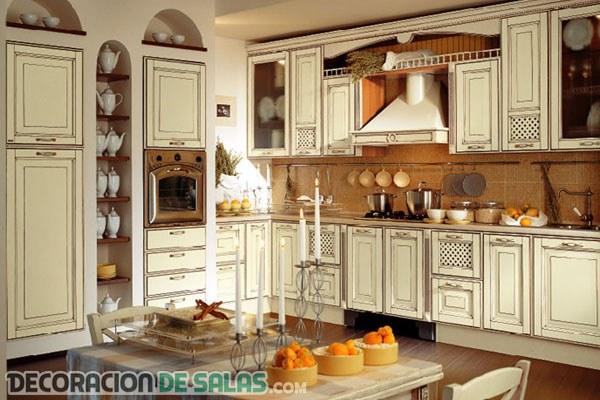 Cocinas con estilo provenzal