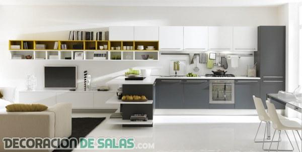 Ideas de cocinas abiertas