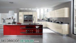 Cocinas minimalistas modernas que no puedes perderte