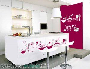 Vinilos para alegrar la decoración de tu cocina