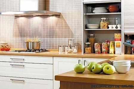 Consejos para una cocina práctica y funcional