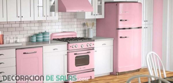 La decoración en rosa palo está de tendencia