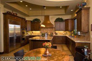 Cocinas de estilo rústico muy originales