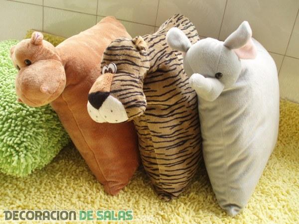 Cojines de animales
