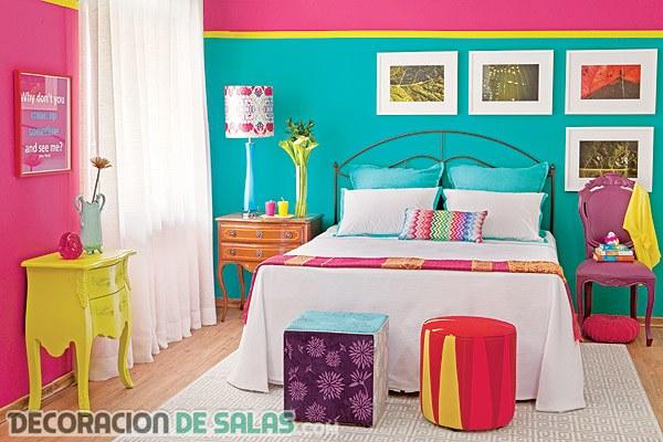 Los colores neón inundan nuestra decoración