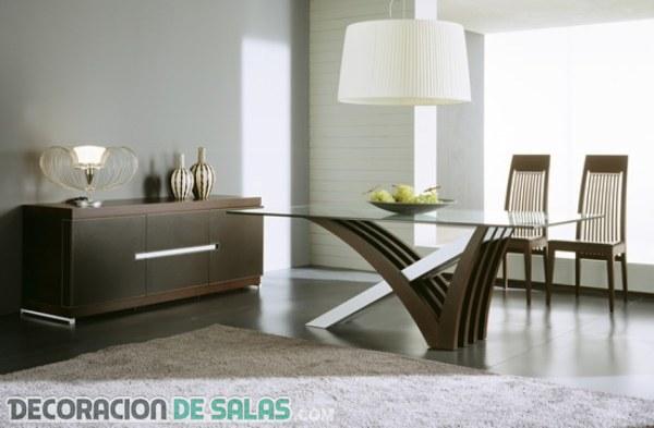 Ejemplos de comedores modernos de diseño | DECORACIÓN DE SALAS