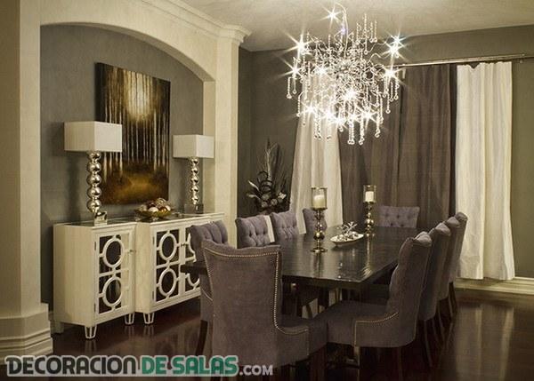 5 Comedores formales con mucha elegancia | Decoración de Salas