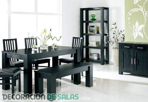 Muebles en color negro