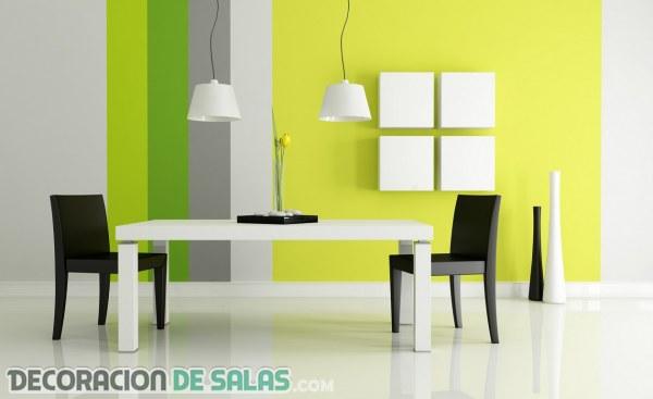 Comedores modernos a todo color | Decoración de Salas