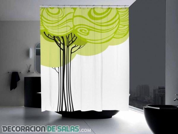 Cortinas originales para tu baño más moderno