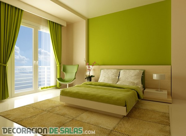 Cortinas para dormitorios en color