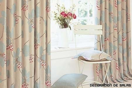 Motivos florales en todas las casas
