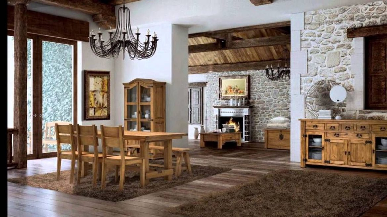 muebles para decoración rústica
