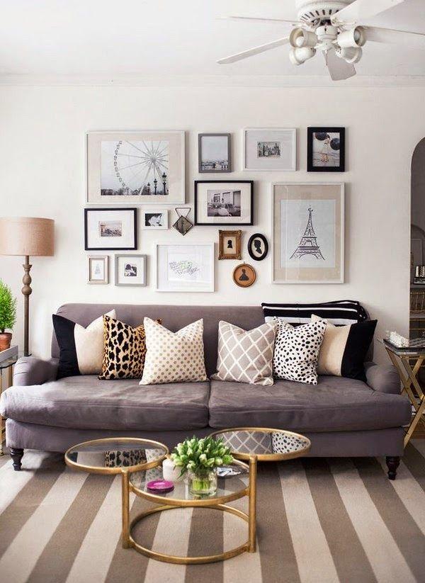 ¿Cómo crear una decoración acogedora en una sala?