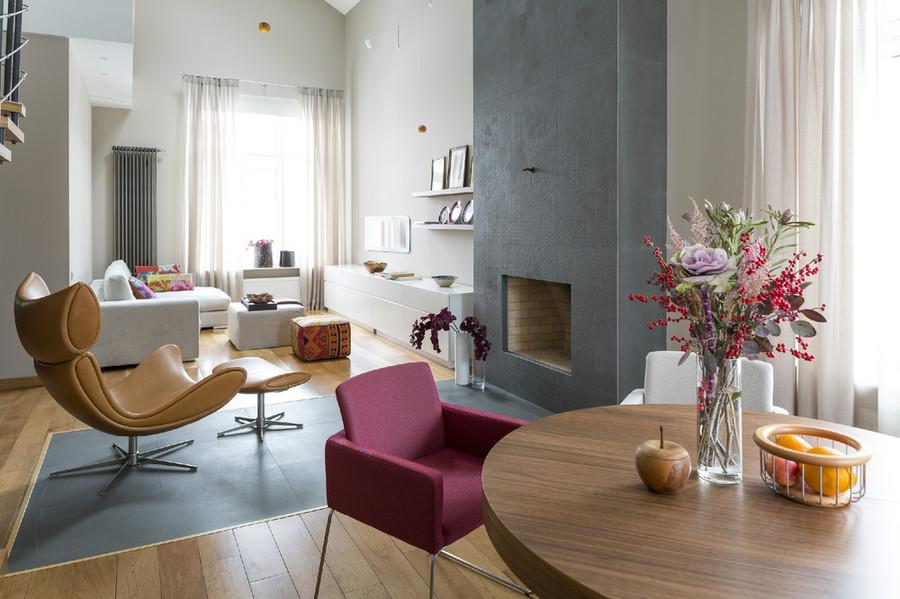Apartamentos modernos decoración de salas