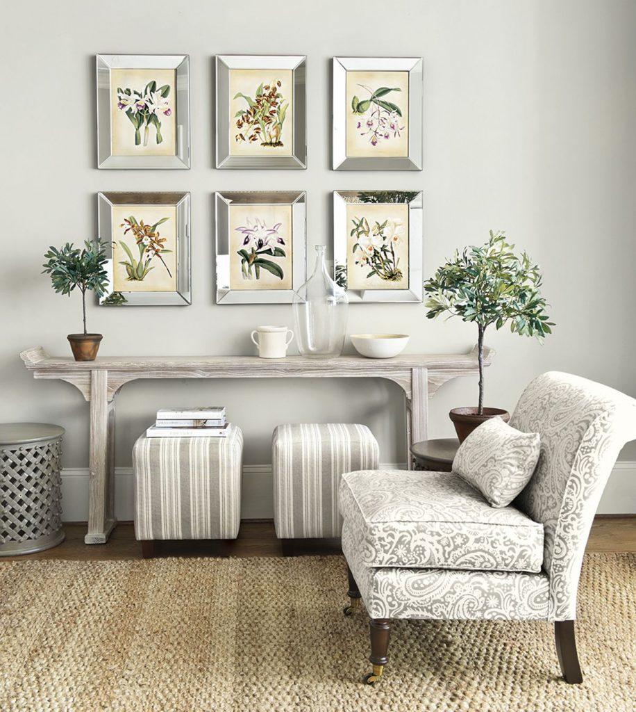 decoración de interiores blancos
