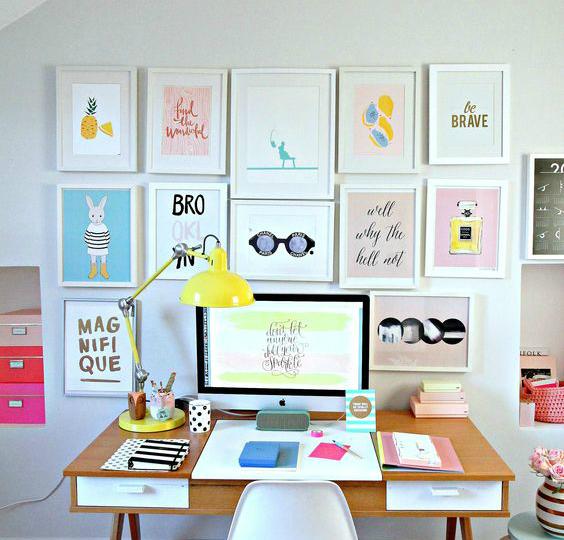 colores neutros para el despacho
