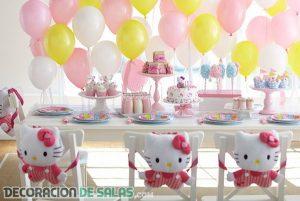 Decoraciones para fiestas de cumpleaños infantiles