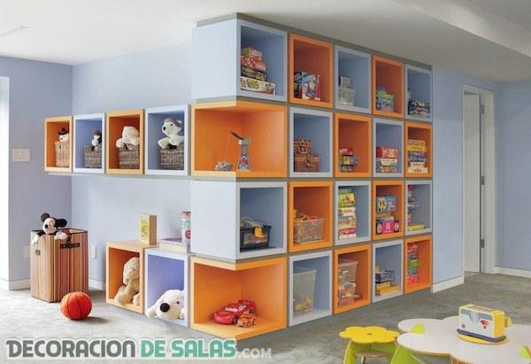 Aprovecha el espacio en los dormitorios infantiles