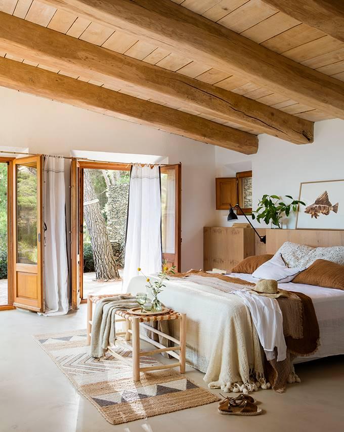 decoracion de dormitorio de madera