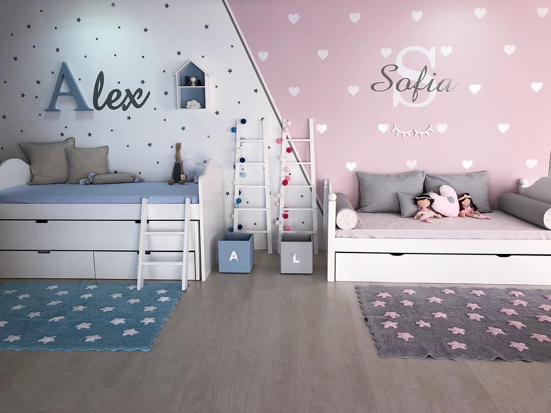 Dormitorios juveniles 2019 | Decoración de Salas
