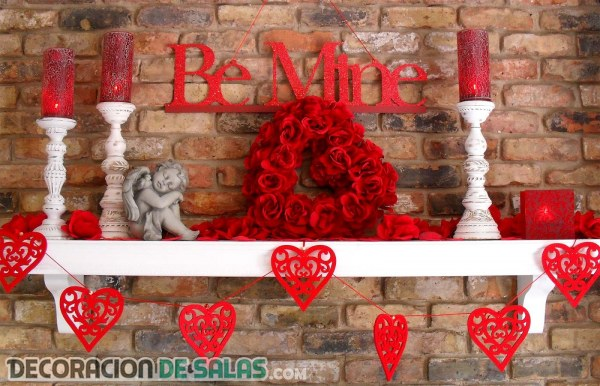 Tres ideas de decoración para San Valentín