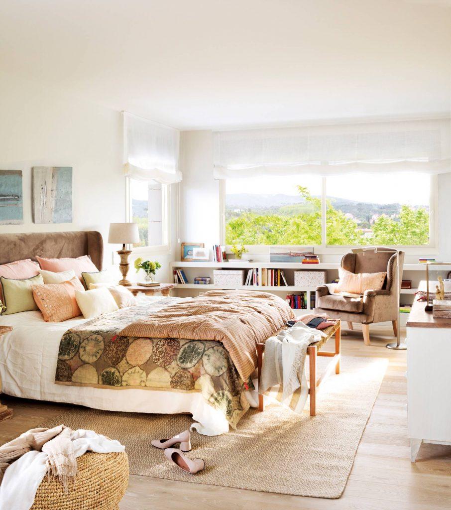 dormitorio elegante y moderno 2019