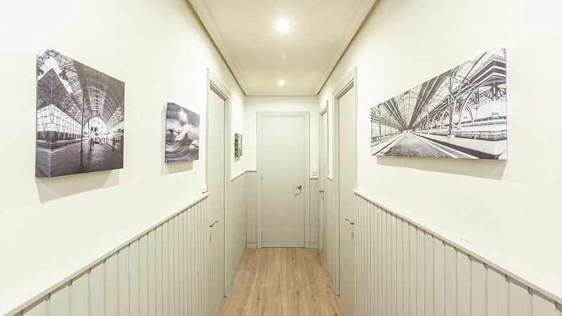 decorar un pasillo