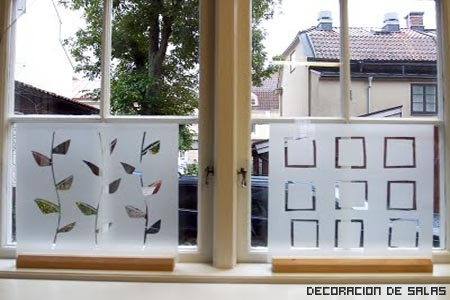 Las ventanas también se decoran