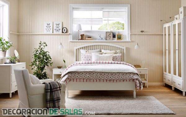 Modernos y económicos dormitorios de Ikea