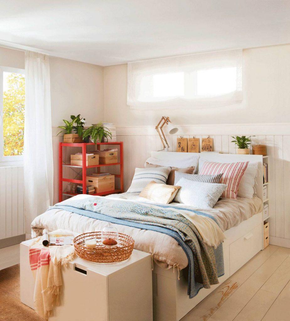 decoracion cama nido