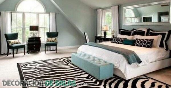 Dormitorios originales con estampado animal