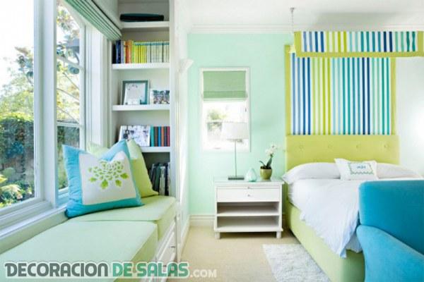 8 dormitorios a todo color que te encantarán