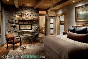 4 dormitorios con estilos decorativos diferentes