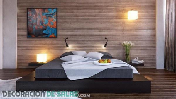 5 ideas para darle protagonismo a la pared del dormitorio