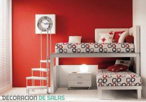 Las mejores habitaciones en color rojo